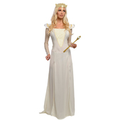 Disfraz de Glinda Oz Un Mundo de Fantasía deluxe para mujer