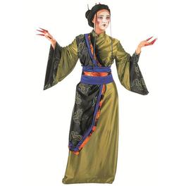 Disfraz de geisha dorada