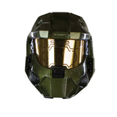 Máscara Master Chief Halo deluxe para adulto