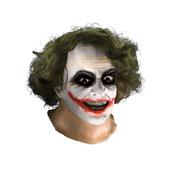 Máscara de Joker TDK con pelo de látex para adulto