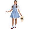 Disfraz de Dorothy niña brillante deluxe