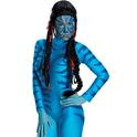 Peluca de Neytiri Avatar para niño