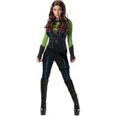 Disfraz de Gamora Guardianes de la Galaxia deluxe para mujer