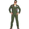 Disfraz de piloto de caza para hombre