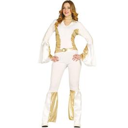 Disfraz de pop star años 80 para mujer
