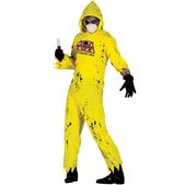 Disfraz de zombie radiactivo para adulto
