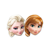 Elsa and Anna Frozen masks set