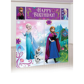 Happy Birthday Frozen poster