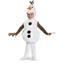 Disfraz de Olaf deluxe infantil
