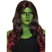Peluca de Gamora Guardianes de la Galaxia