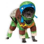 Costume Leonardo Tortues Ninja  pour chien