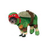 Disfraz de Raphael Tortugas ninja para perro