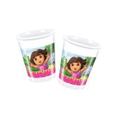 Set de vasos Dora la Exploradora - Pack de 24