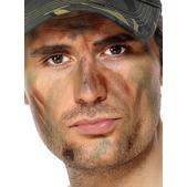 Maquillaje militar - Pack de 6