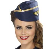 Sombrero de azafata del aire - Pack de 3