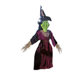 Marioneta de bruja verde