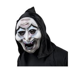 Máscara de vampiro endemoniado con capucha