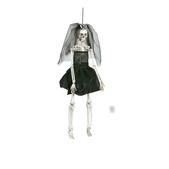 Novia esqueleto colgante