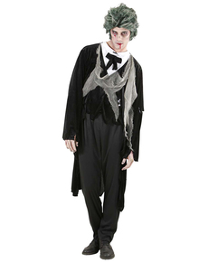 Disfraz de caballero zombie para hombre