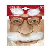 Gafas de Papá Noel con nariz