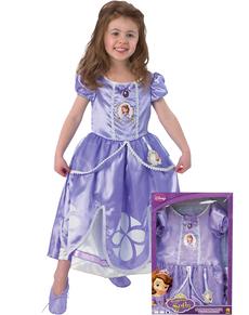Disfraz de Princesa Sofia para niña en caja
