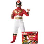 Disfraz de Power Ranger Megaforce rojo para niño en caja
