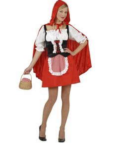 Disfraz de Caperuza Roja para mujer
