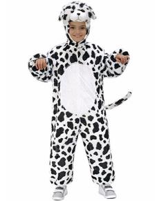 Disfraz de dálmata de peluche infantil