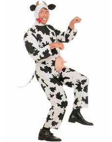 Disfraz de vaca salada para adulto