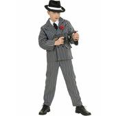 Disfraz de gángster mafioso para niño