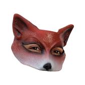 Media máscara de Zorro de látex