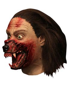 Máscara Wolf Transformation de látex