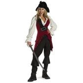 Disfraz de Elizabeth Swann Piratas del Caribe deluxe para mujer