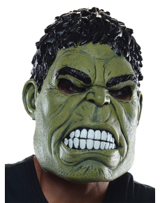 Máscara de Hulk Vengadores: La Era de Ultrón para hombre