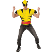 Kit disfraz de Lobezno musculoso para adulto