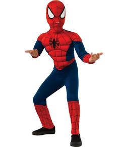 Disfraz de Ultimate Spiderman musculoso para niño