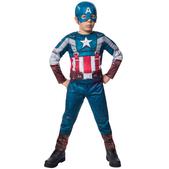 Disfraz de Capitán América retro: el Soldado de Invierno deluxe para niño