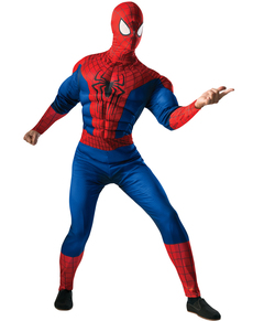 Disfraz The Amazing Spiderman 2 deluxe para hombre