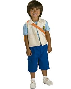 Disfraz de Go Diego Go deluxe para niño