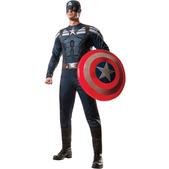 Disfraz de Capitán América Stealth Soldado de Invierno musculoso para hombre