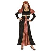 Disfraz de cortesana elegante para mujer talla grande