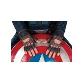 Guantes estilizados Capitán América: el Soldado de Invierno para adulto