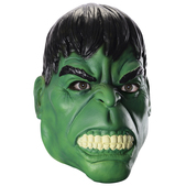 Máscara 3/4 Hulk Marvel para adulto