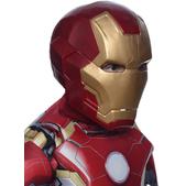 Máscara Iron Man dos piezas Vengadores: La Era de Ultrón deluxe para niño