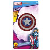 Tatuaje l Capitán América Marvel para niña
