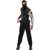Disfraz de Soldado de Invierno Capitán América: el Soldado de Invierno musculoso para hombre