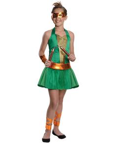 Disfraz de Michelangelo Las Tortugas Ninja para niña