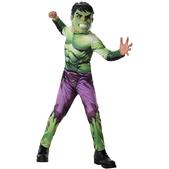 Disfraz de Hulk Marvel Vengadores para niño