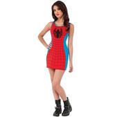 Vestido disfraz Spidergirl Marvel classic para mujer