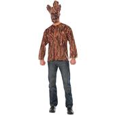 Kit disfraz Groot Guardianes de la Galaxia para adulto